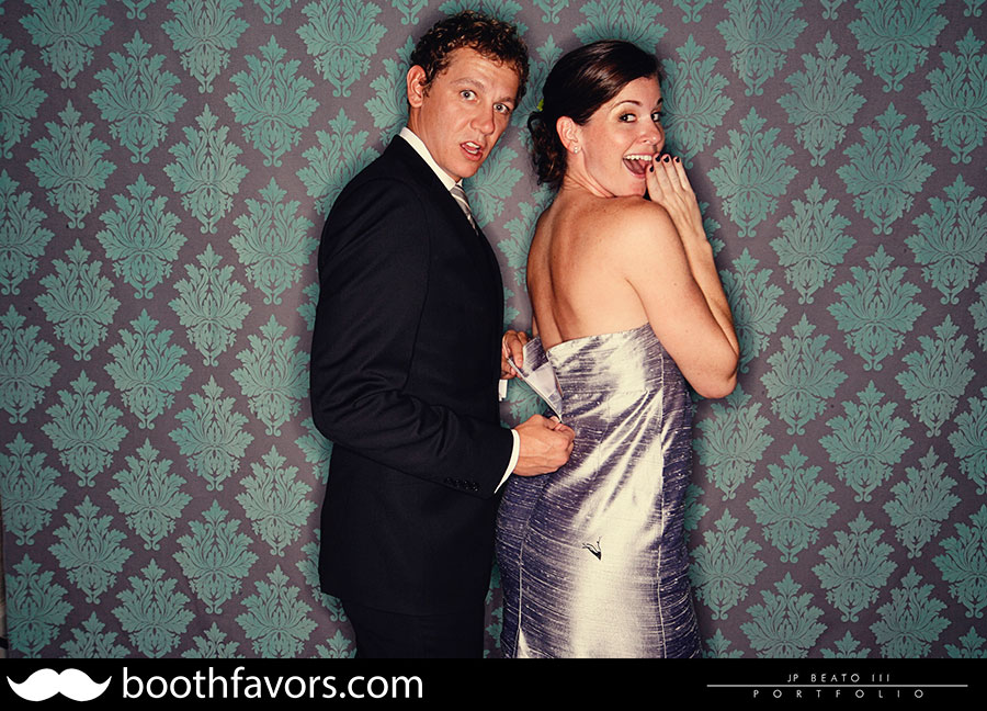 Leslie Michael Barton Creek Resort Wedding Photobooth
